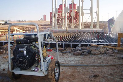 Das Betonieren am Bau mit dem Hochdruck-Reiniger optimieren