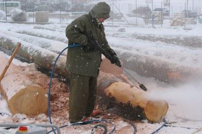Hochdruckreiniger vor Frost schützen & winterfest machen
