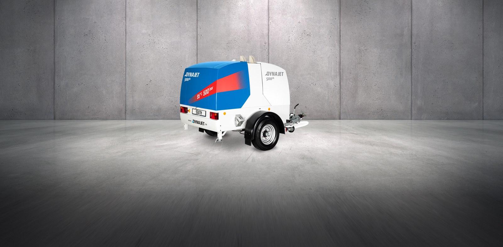 Die neue DYNAJET 500th Blue Performance - Wasserhochdruckreiniger mit digitaler Steuerung und bis zu 500 bar Arbeitsdruck