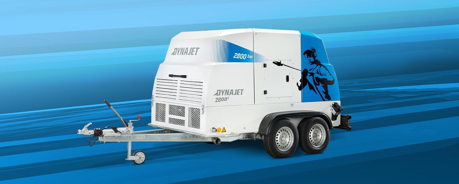 Die DYNAJET UHP – die Königsklasse– überzeugt mit bis zu 3.000 bar Arbeitsdruck und einer maximalen Fördermenge von 88 l/m durch ihre Funktionalität, Leistung und Wirtschaftlichkeit