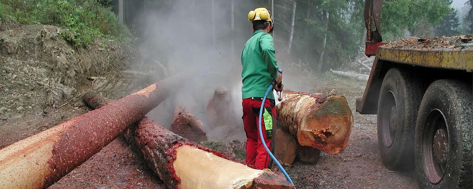DYNAJET für die Land- und Holzwirtschaft