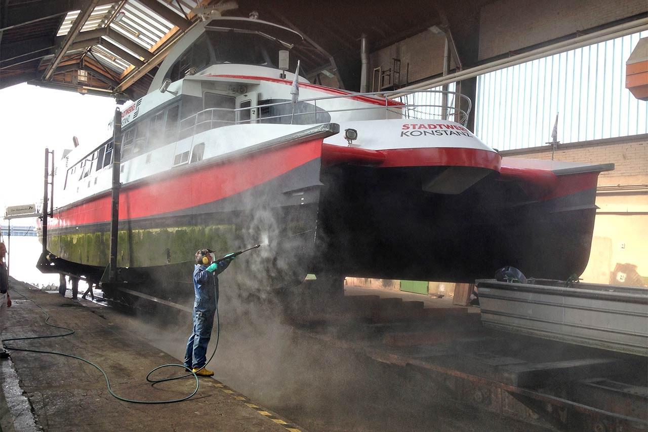 Katamaran-Reederei Bodensee vertraut auf DYNAJET