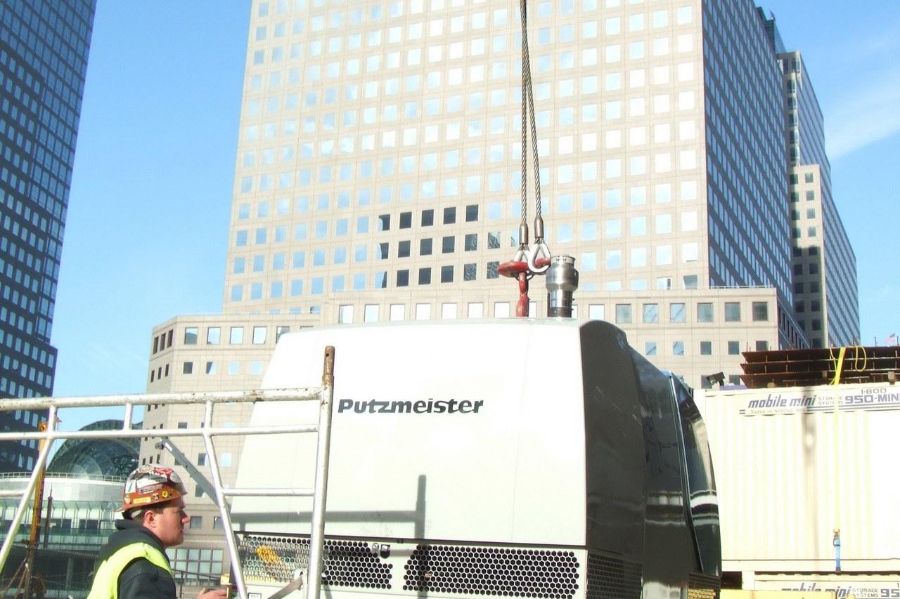 DYNAJET am Ground Zero in New York