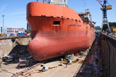 DYNAJET saniert eines der größten Offshore-Schiffe der Welt
