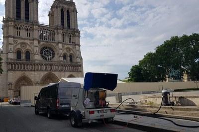 DYNAJET unterstützt die Restaurierung von Notre-Dame