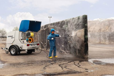 Effiziente Fahrsilo-Reinigung mit DYNAJET
