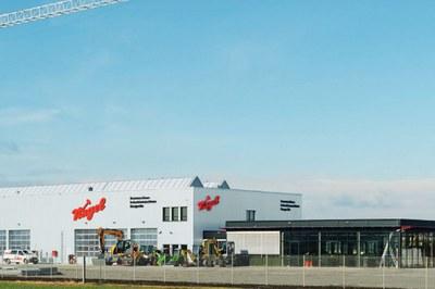 Nagel Baumaschinen eröffnet neues Zentrum in Erfurt.