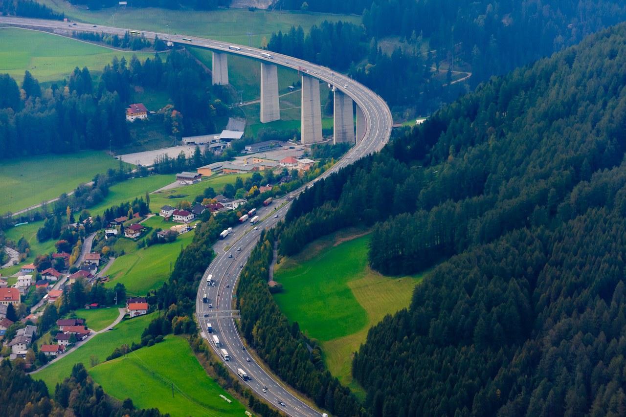 Sanierung der Brenner Autobahn mit DYNAJET