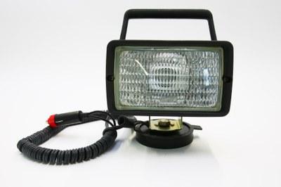Arbeitsscheinwerfer 12V/55W mit Magnetfuß + Kabel