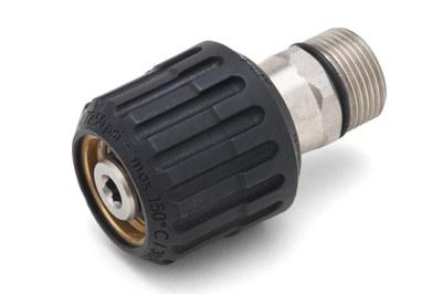 Schlauchdrehgelenk  500bar  M22 IG/AG