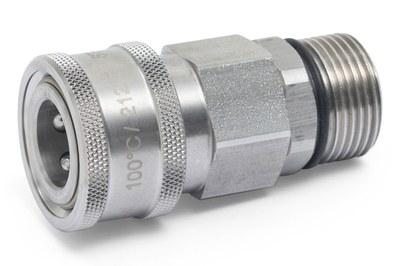 HD-Schnellkupplung 350bar Female m. M22x1,5AG