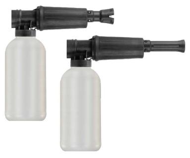 Schauminjektorlanze M22x1,5IG 300bar max. 80°C inkl. 2l-Flasche