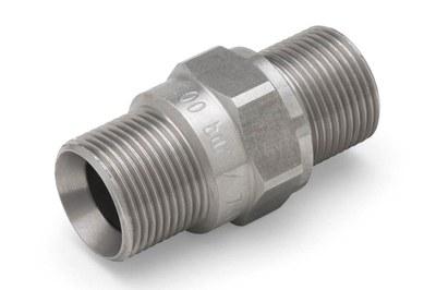 Schlauchverbinder M22x1,5AG 500bar